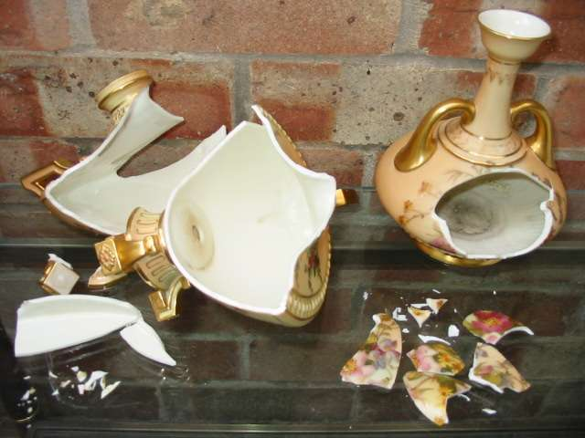 Royal Worcester before Repair and Restoration