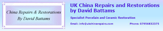 UK China Repairs and Restorations – Milton Keynes, Buckinghamshire